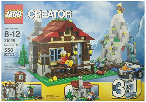 LEGO Creator Mountain Hut 31025 (Bike Lego Quad)