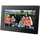 [Updated version] 10 inch Digital Photo Frame w/ Hi-resolution screen. Use your SD CARD or USB DRIVE for photo access. Includes a variety of transition and slideshow options
