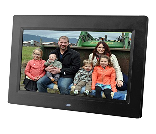 [Updated version] 10 inch Digital Photo Frame w/ Hi-resolution screen. Use your SD CARD or USB DRIVE for photo access. Includes a variety of transition and slideshow options by Sungale