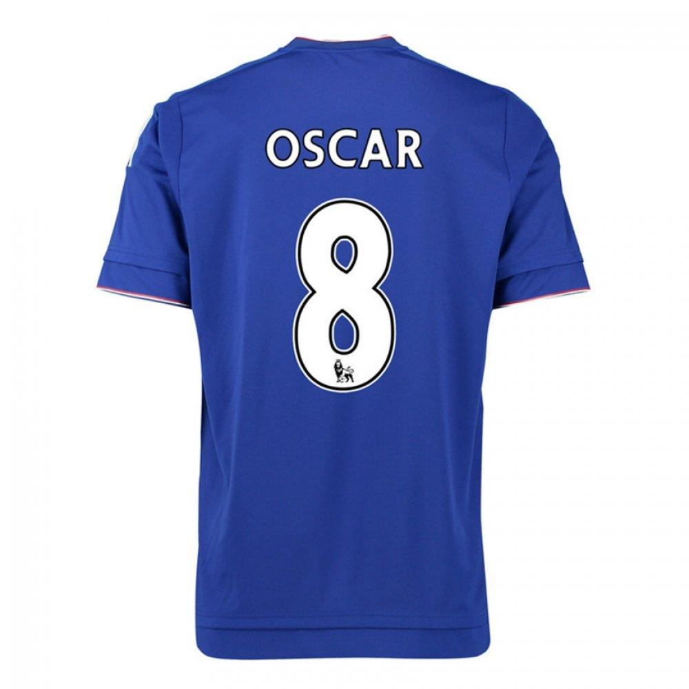 2015-16 Chelsea Home Football Soccer T-Shirt Trikot (Oscar 8) - Kids