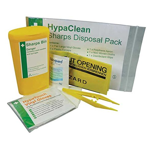 Safety First Aid Group K399 Sharps Disposal Kit Application