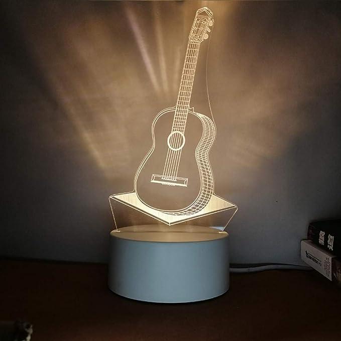 Luz de Noche Creativa Letras estéreo 3D DIY diseño de Personalidad ...