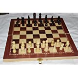 "15"" standard wooden chess set 2.5"" king , checkers and backgammon game 3 in one game set best board chess game"