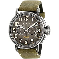 Zenith Heritage Pilot Type 20 Chronograph Automatic Mens Watch 11.2430.4069/21.C773