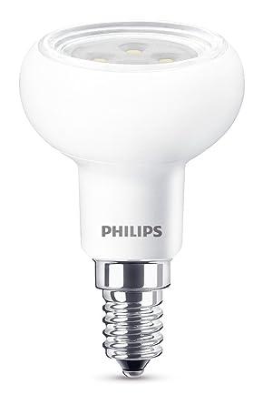 Philips Bombilla Reflector E14 929001236001-Bombilla LED, Casquillo, Consume (Equivalente a 60