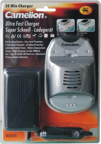 Camelion bc0505 Super rápido de Cargador (30 minutos) para 4 ...