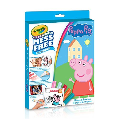 Crayola - Color Wonder Kit Peppa Pig