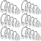 Ruifan 36PCS 16G Surgical Steel Nose Septum