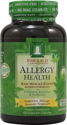 Emerald Labs Allergy Health -- 120 Vegetable Capsules - 3PC by Emerald Laboratories