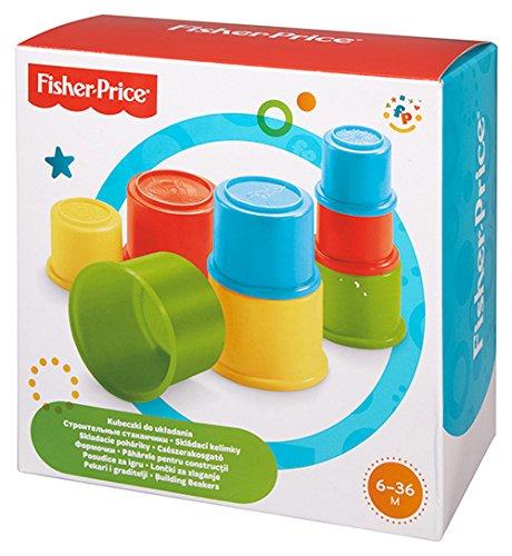 Cubos de construcción Fisher-Price, moldes para arena con diseño de animales por solo 5,45€