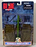 "G.I. Joe Sandbag Mortar Accessory Set for 12"" Figure"