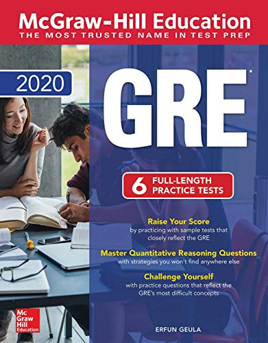 Pdf Test Preparation McGraw-Hill Education GRE 2020