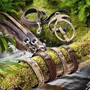 Vajilla Amazonas R&S Petit Talla 50/11 Cuero de imitación Reptile beige/cuero de imitación marrón