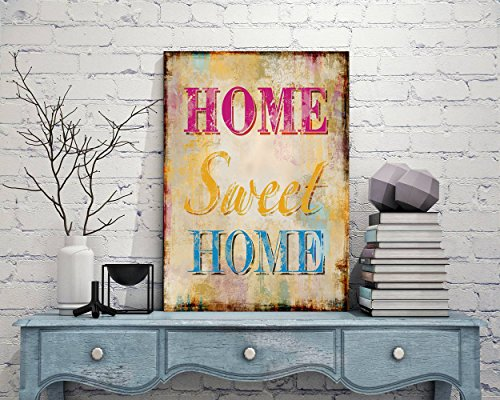 - Dozili Home Sweet Home Home Sweet Home Sign Metal Sign Art Prints Metal Sign Tin Sign Iron Plate House Iron nameplate House Home Decor 10