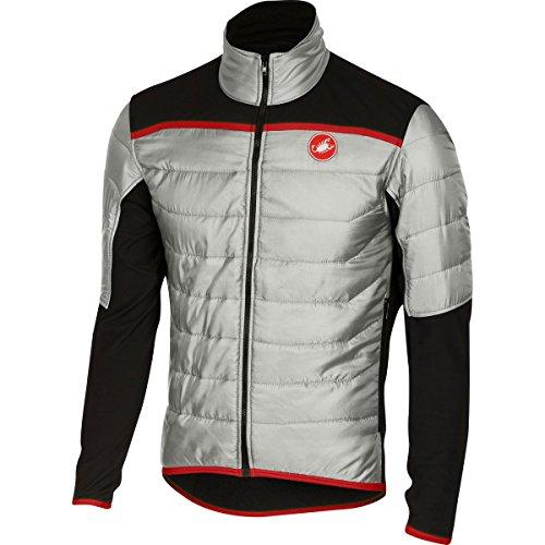 Castelli Cross Prerace Jacket - Men's Silver/Black, (Castelli Cycling Jacket)