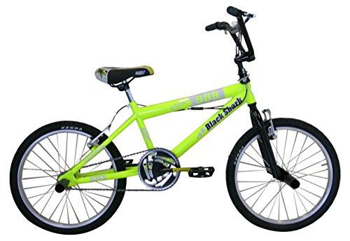 Frejus 20″ BMX Eco – Bicicleta para niño, Color Amarillo