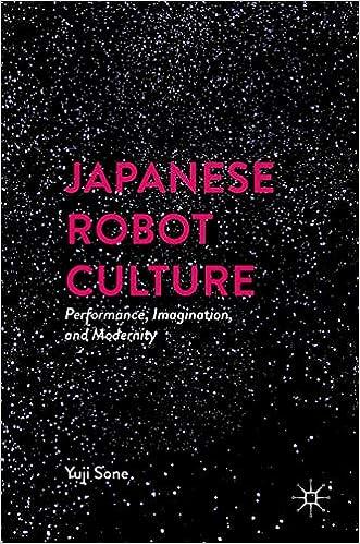Amazon com: Japanese Robot Culture: Performance, Imagination, and