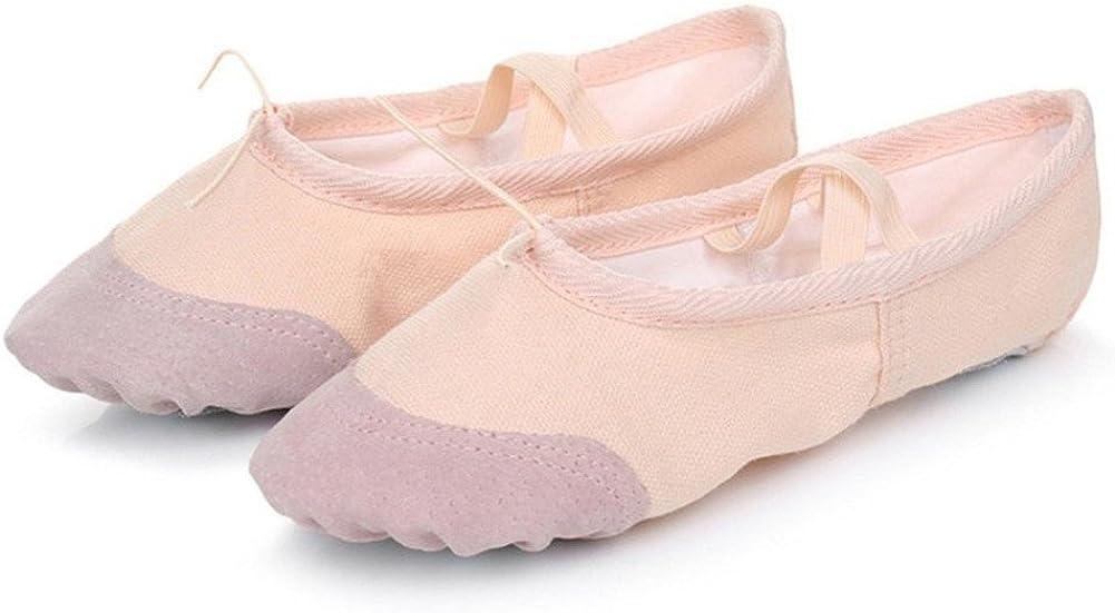 IIGDance Children/'s Ballet Dance Shoes Classic Gym Yoga Flats for Girls,Boys,Kid,Women