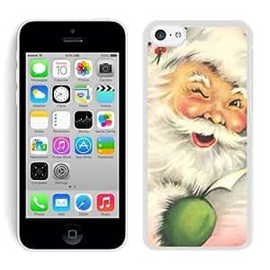 Personalization Iphone 5C TPU Case Santa Claus White iPhone 5C Case 10