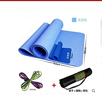 Ampliar 80cm espesor colchoneta fitness colchoneta de yoga ...