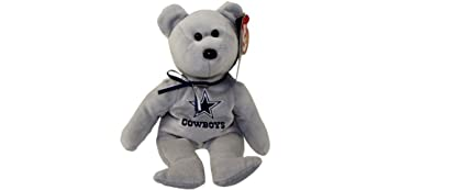 Image Unavailable. Image not available for. Color  NFL Dallas Cowboys TY  Beanie Baby Teddy Bear ... 7e2e06f80
