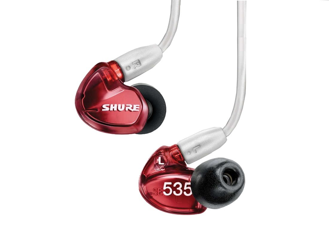 shure se535 limited red sound isolating in ear stereo headphones 11street malaysia earphones. Black Bedroom Furniture Sets. Home Design Ideas