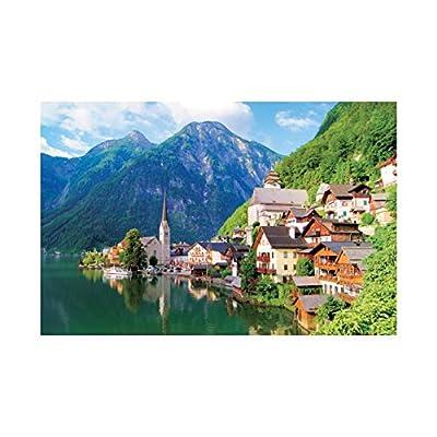 [ Puzzle life ] Hallstatt, Austria | 1000 Piece Jigsaw Puzzle: Toys & Games