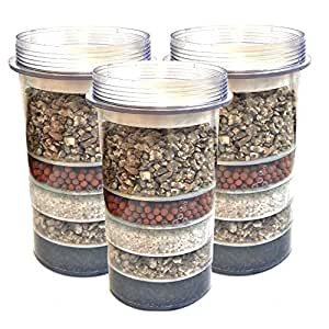 3 Pack Of 5 Stage Replacement Mineral Filter Cartridge For