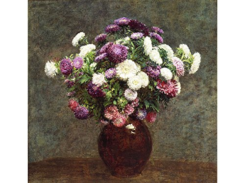 - Asters in a Vase by Henri Fantin-Latour