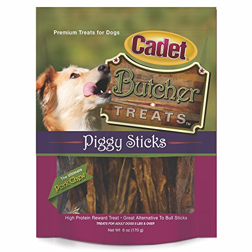 Cadet Butcher Piggy Stick Treat, 6 ()