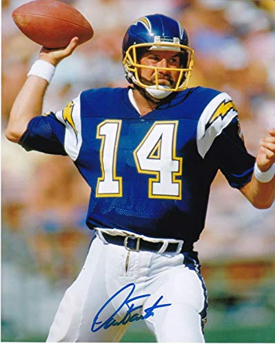 Dan Fouts San Diego Chargers Autographed Signed 8x10 Photo - Certified Authentic ()