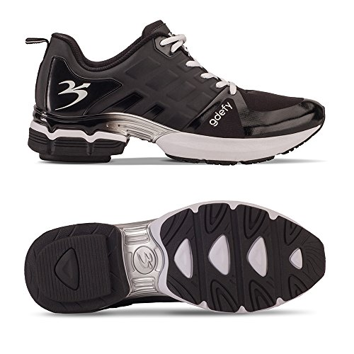 Zwaartekracht Defyer Heren G-tarten Scossa Zwarte Sportschoenen Zwarte