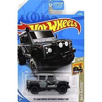 2019 Hot Wheels  Land Rover Defender Double Cab ORANGE   NEU OVP