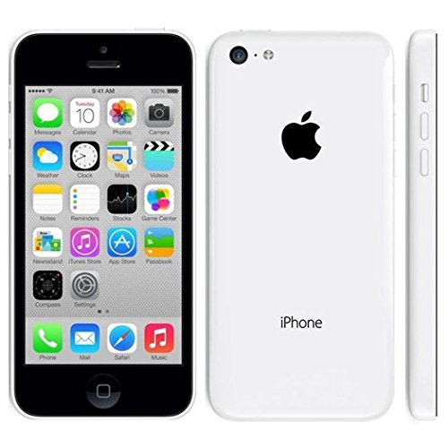 Apple iPhone 5C 8 GB Unlocked, White (Certified Refurbished) by Apple