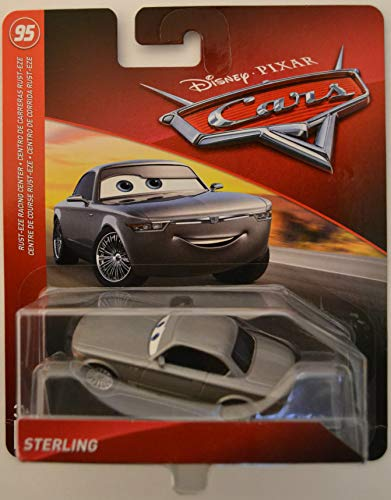 Disney/Pixar Cars Sterling Rust-Eze Racing Center Series 1:55 Scale Collectible Die Cast Model - Center Sterling