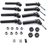 Traxxas 1 10 Stampede 4x4 XL-5 *FRONT & REAR DRIVE SHAFTS - HEX WHEEL HUBS & NUTS