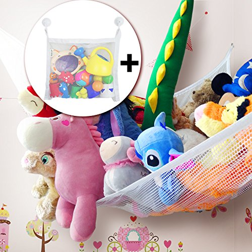 Toy Hammock Set for Stuffed Animals, Extra Large (80