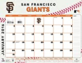 Turner San Francisco Giants 2016 Desk Calendar, January-December 2016, 22 x 17