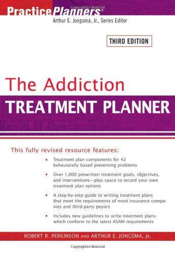 The Addiction Treatment Planner (PracticePlanners) -