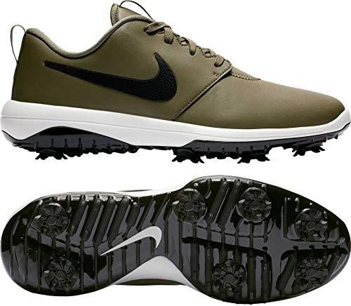 Nike Men's Roshe G Tour Golf Shoes (10.5 M US, Medium Olive/Black/Summit White/Black)