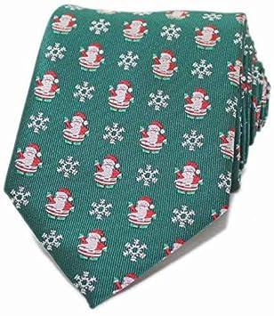 WANG Hombres S Tie Regalos del día de Navidad Hombres S Holiday ...