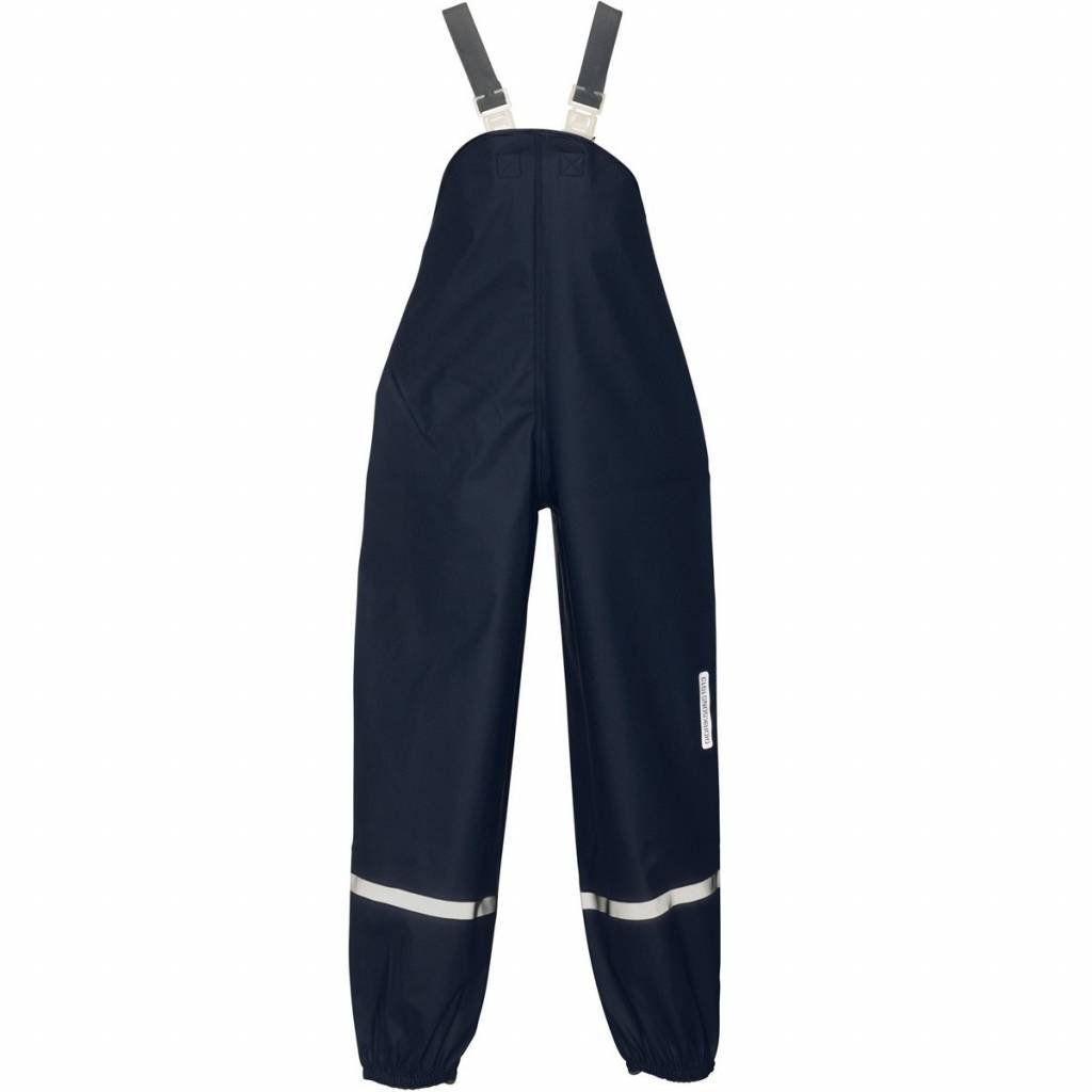 Didriksons Plaskeman Kids Waterproof Pants - Navy 4-5y (110cm)