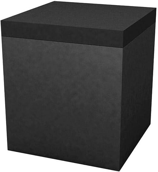 Vondom Quadrat puff de exterior 40x40 h.45 cm negro: Amazon.es: Jardín