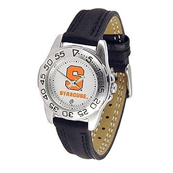Syracuse Orange SU NCAA Womens Leather Wrist Watch by SunTime