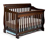 Premium Baby Crib Convertible Furniture Cribs 4 in 1 Toddler Cot Modern Delta Nursery Solid Wood Cherry Kids Cots for Tot