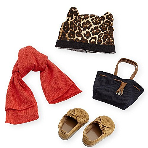 Journey Girls Leopard Beanie and Moccasins Fashion