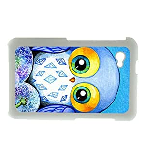 Generic Thin Phone Cases For Girl Printing Cute Funny Owl For Samsung Galaxy Tab P6200 Choose Design 1