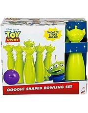 Çocuklar için Sambro Disney Bowling Seti, Toy Story'den Uzaylılar içerir