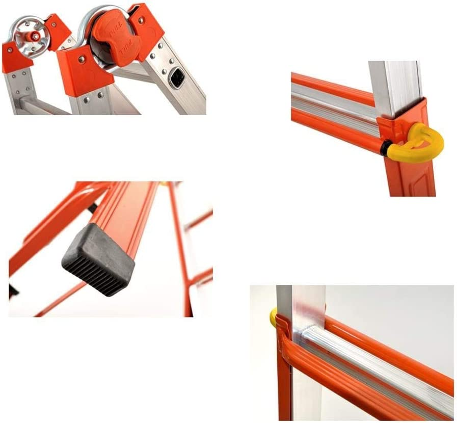 Wolfpack 23020460 - Escalera Telescópica Mixta 4+5.: Amazon.es: Bricolaje y herramientas