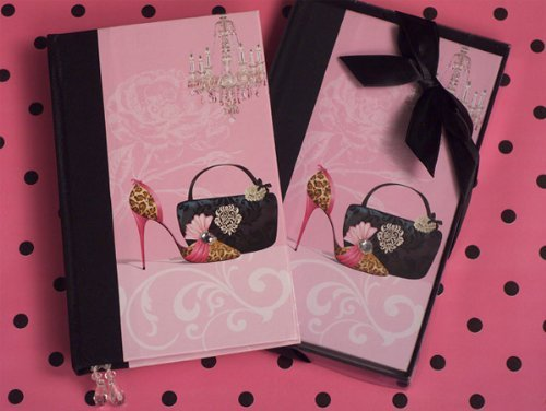 Baby Keepsake: Dazzling Divas phone book favor ()